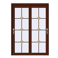 FPL-7016 Half Glass Design Swing Door Interior Bathroom Door