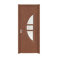 FPL-4025 Modern Style Interior Door Pvc Glass Door