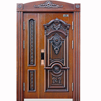 Luxurious Vintage European Style Steel Security Door