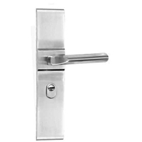 LSO3 Stainless Steel Simple Plate Door Handle
