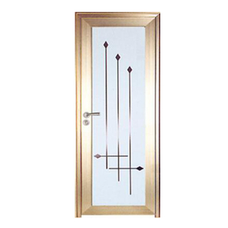 FPL-7008 Waterproof Aluminium Bathroom Doors