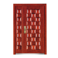 FPL-Z7010B Bullet Proof Retro Style Armored Entrance Door