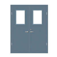 FPL-H5020 Steel Interior Certificate Metal Fireproof Door