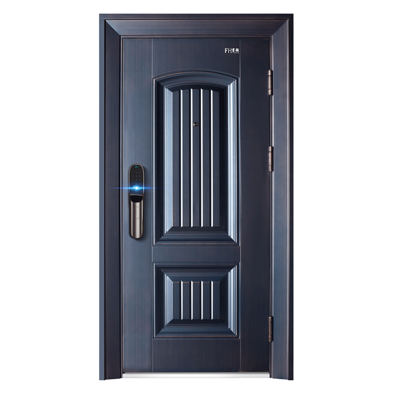 Modern Apartment Safe Steel Security Door