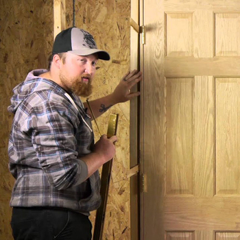 How to Install an Interior Wood Door?