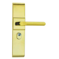 LSO2 Brass Classic Plate Window Door Handle