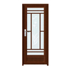 FPL-7006 Classic Design Alumnium Glass Bathroom Door
