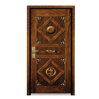 FPL-Z7014 Security European Style Armored Entrance Door