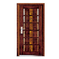 FPL-Z7004 Steel Wooden Top Security Armored Door