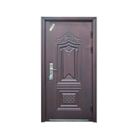 Classic Retro Half Single Leaf Double Swing Door