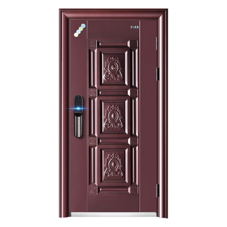 Retro Anti-rust Surface Steel Security Door