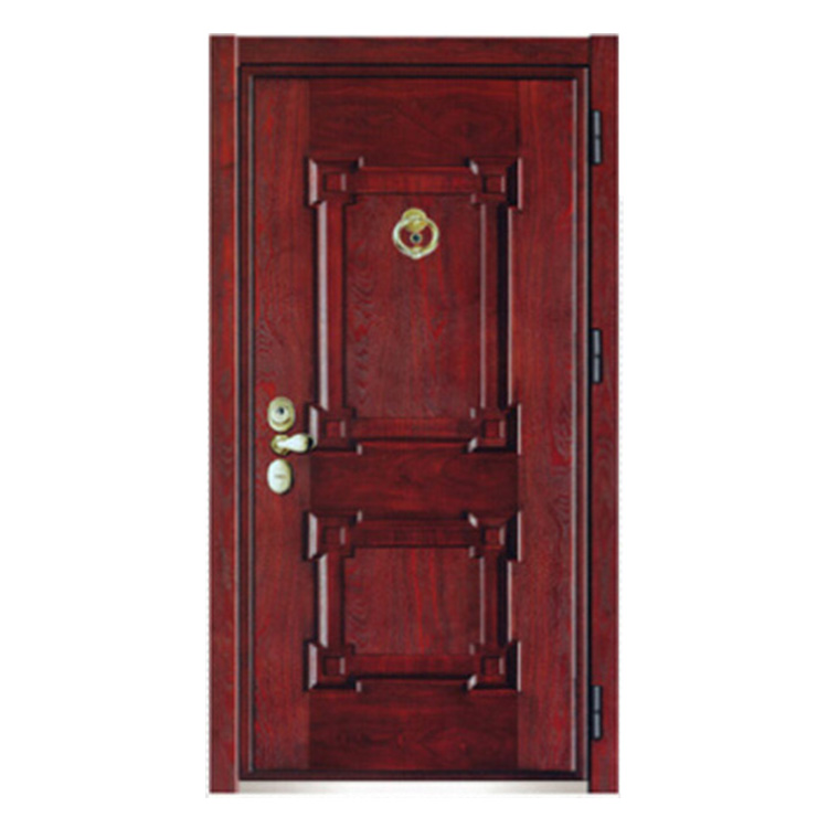 FPL-Z7018 Retro Classic High Level Armored Entrance Door