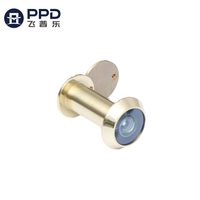 PHIPULO High Quality Zinc Alloy Glass Lens Security Door Peephole Viewer