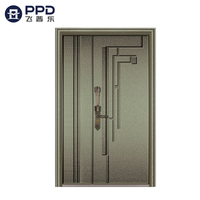 FPL-8012 Inactive Double Leaf Bullet Proof Explosion Alumninum Cast Door