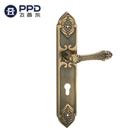 LS26 Classic Antique Brass Vintage Kitchen Door Handles