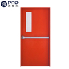 FPL-H5015 Red Alarmed Emergency Exit Stainless Steel Fire Rated Front Single Door
