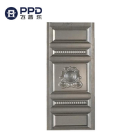PHIPULO Custom Modern Fancy Metal Stianless Steel Door Skin
