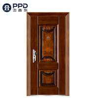 Home Decoration Waterproof Residential Entrance Security Door