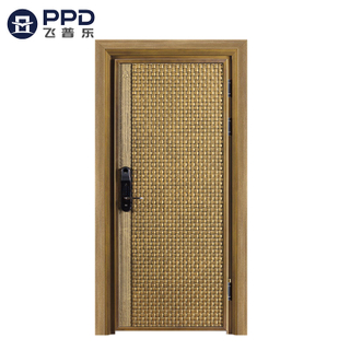 FPL-8018 Bullet Proof High Quality High Security Cast Aluminum Entry Door