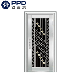 FPL-S5012 Customized Size Professional 304 Stainless Steel Door Main Gate