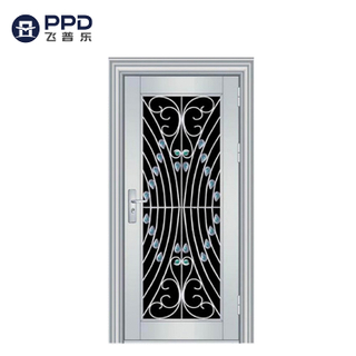 FPL-S5002 Factory Price Apartment 304 Stainless Steel Security Fireproof Door